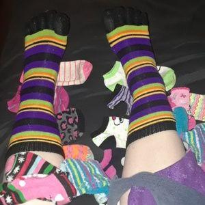Glove Rainbow Socks